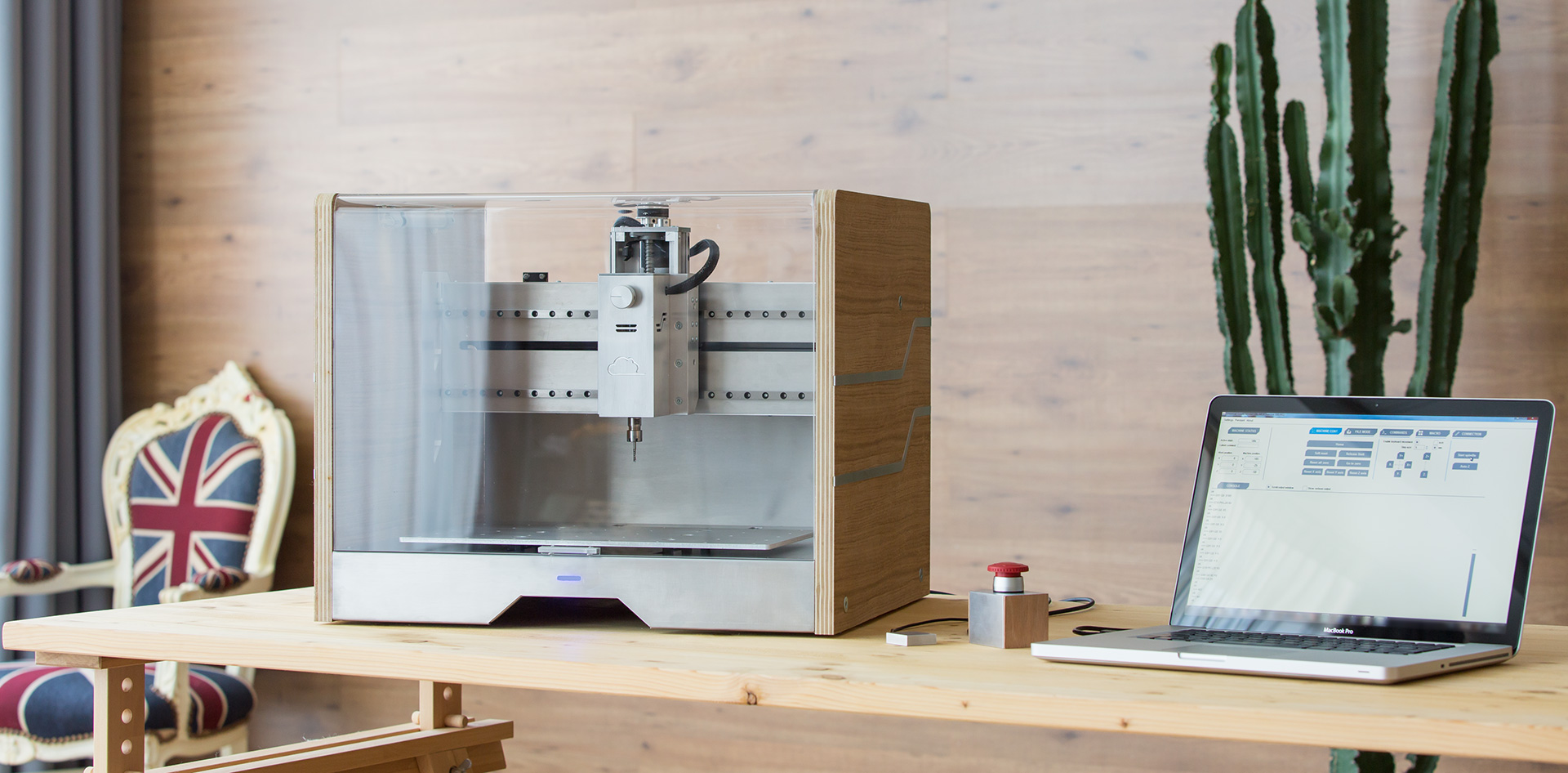 cnc mill desktop kickstarter #cnc #milling #machine